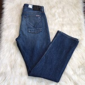 Hudson Byron Straight Button Fly Jeans size: 36